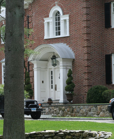 Freedom Grey by Revere – Zinc Coated Standing Seam Copper Roofing & Counter-Flashing– New Canaan, CT